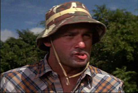 Bill Murray as Carl Spackler in Caddyshack